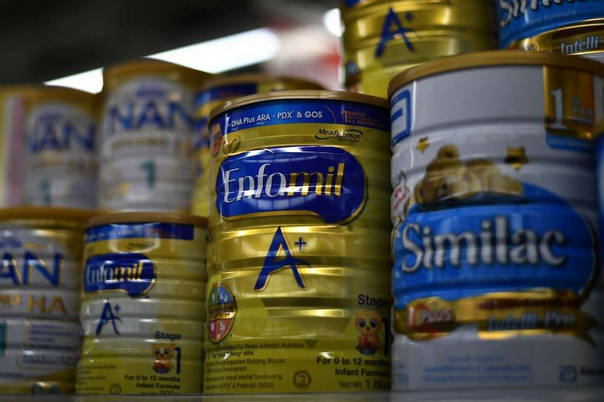 The average price of a 900g tin of formula here has increased 120 per cent over the last decade to $56.06.