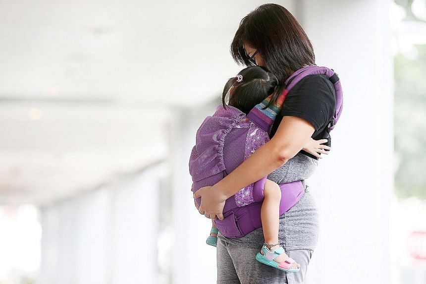 Ms Tan (not her real name) started the adoption process for her two-year-old daughter last August. They now live with Ms Tan's parents in her brother's marital home. Once the adoption goes through, she plans to buy a built-to-order flat in her and he