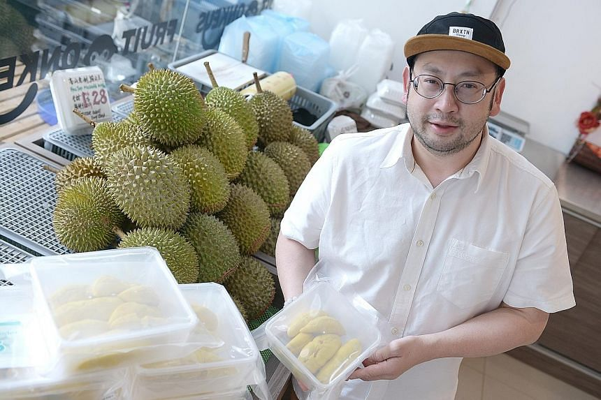"""Fruit Monkeys co-founder Bernard Tan said the company recently started listing its products on the Qoo10 platform. He declined to reveal sales figures, but said business has """"picked up really fast"""". He started the business last December and it has a"""