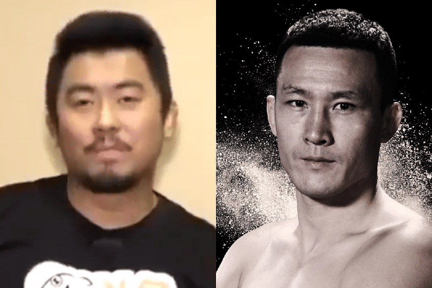 Chinese mixed martial arts star Wang Guan (right) slammed compatriot Xu Xiaodong for his disrespectful comments about traditional martial arts.
