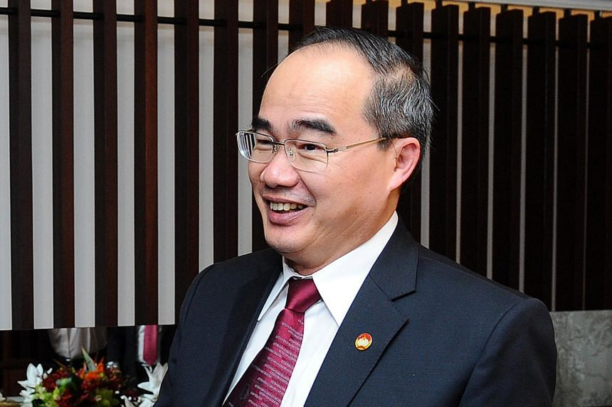 Politburo member Nguyen Thien Nhan was named the party secretary for the country's commercial capital.