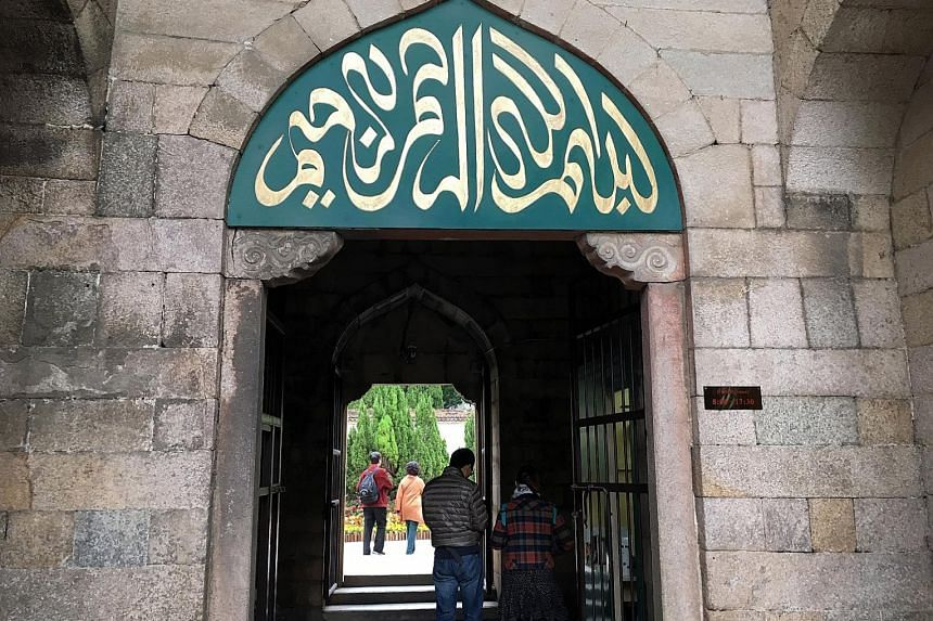 Qingjing Mosque, built in the 11th century, is a reminder of the vibrant sea trade of Quanzhou, which welcomed many Arab traders.