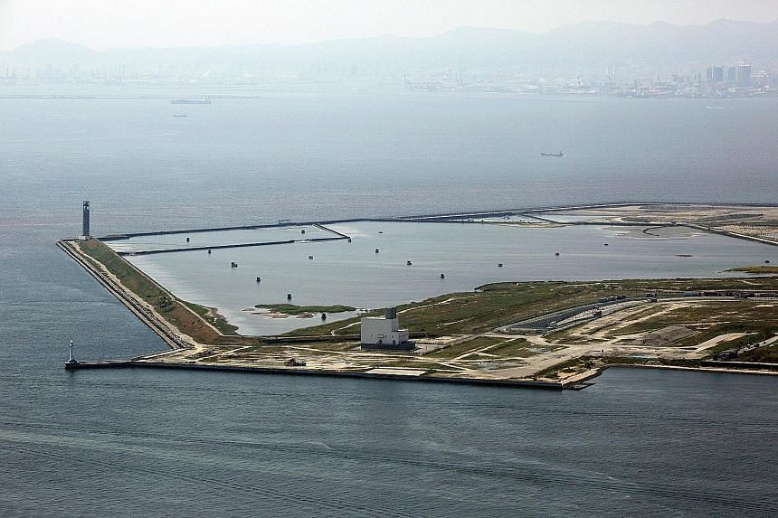 The reclaimed Yumeshima Island in Osaka Bay is being mooted as a possible site for an integrated resort by the Japanese city.