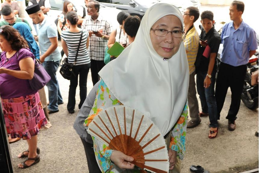 PKR president Datuk Seri Wan Azizah insists the party have tried to work with PAS but has acknowledged the split.