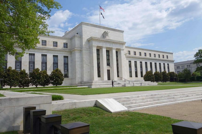 The US Federal Reserve building in Washington, DC.