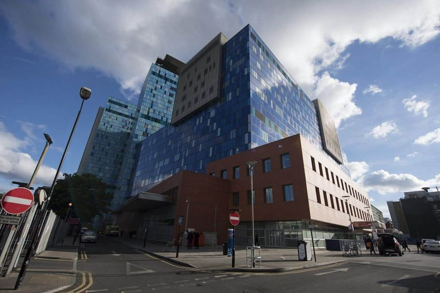 The Royal London Hospital, in Central London, Britain, on May 12, 2017.