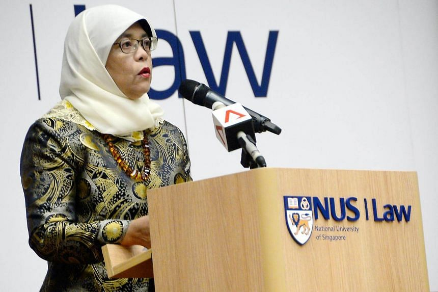 Madam Halimah Yacob will be delivering the opening address and launching a guidebook on Syariah Law at the Syariah Law Forum 2017 organised by NUS Faculty of Law students.