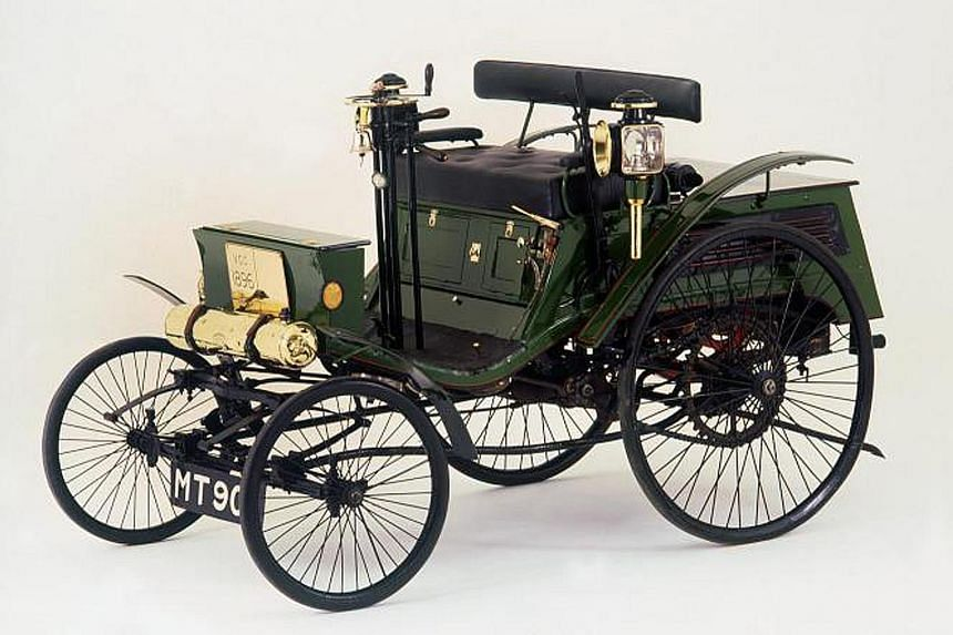 The 1896 Arnold Benz Motor Carriage