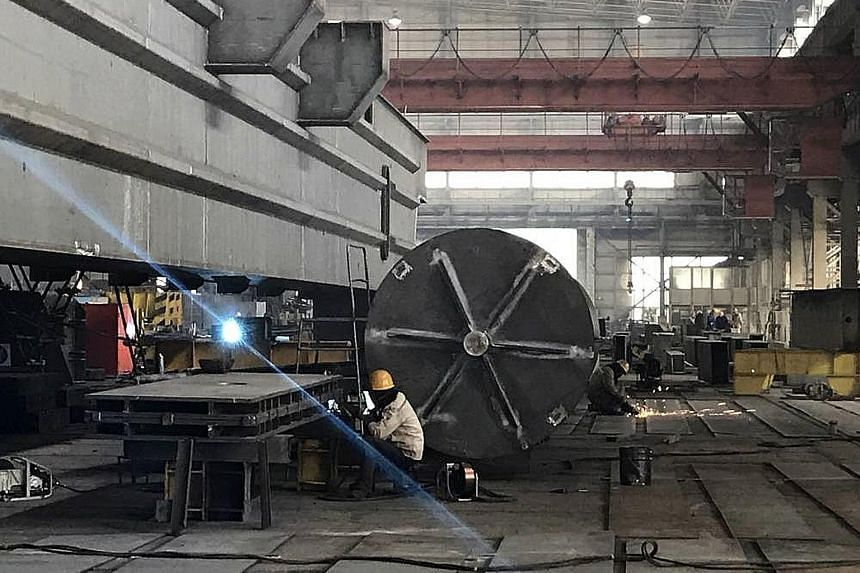 Dalian Huarui Heavy Industry Group believes overseas sales of its products, such as wind turbine parts and cranes for nuclear power stations, will get a boost from the publicity surrounding the Belt and Road Initiative