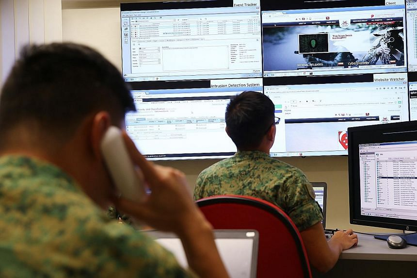 """A simulated cyber attack at the Cyber Test and Evaluation Centre. The SAF has to nurture """"institutional mavericks"""" capable of tackling entrenched barriers to military innovation, the writer says."""