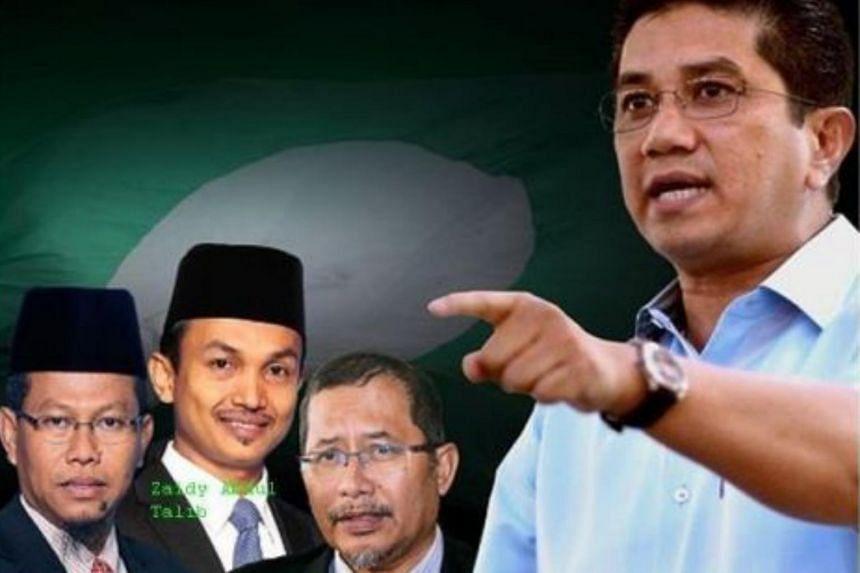 Datuk Seri Azmin Ali (right) asked Datuk Iskandar Samad, Datuk Dr Ahmad Yunus Hairi and Zaidy Abdul Talib to resign from the state executive council.