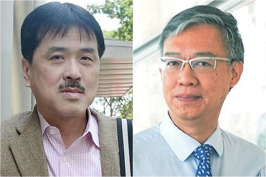 Datuk Seri Hii Chii Kok (left) alleged that he was informed by Prof London Lucien Ooi and NCCS that he had pancreatic cancer.