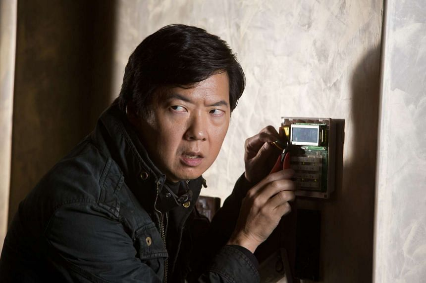 Korean-American actor Ken Jeong is best known as a foul-mouthed gangster, Mr Chow, in the Hangover (2009-2013) movies.