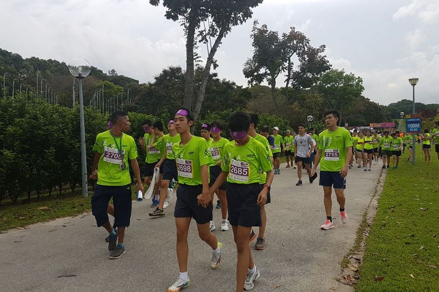 Some 2,000 people gathered to run in the name of inclusiveness at Bedok Reservoir on Saturday, May 13 2017.