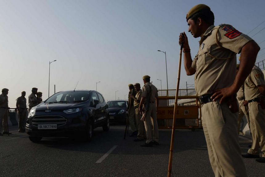 Indian police have arrested two men, one of whom was the victim's ex-boyfriend, for the murder and rape of a 23-year-old woman.