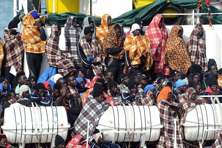 Seaborne migrants pay Libya-based smugglers to arrange their passage in order to reach the European mainland via Italy.