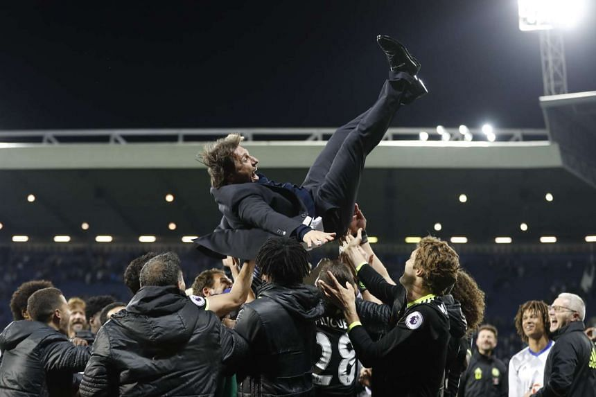 Premier League title-winning manager Antonio Conte has played down speculation linking him to a move to Inter Milan.