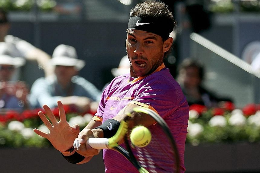 Rafael Nadal made surprisingly light work of his great rival Novak Djokovic yesterday, easily beating the Serb 6-2, 6-4 in their 50th meeting to reach the ATP Madrid Open final. It was also Nadal's first win over Djokovic since the 2014 Fench Open fi