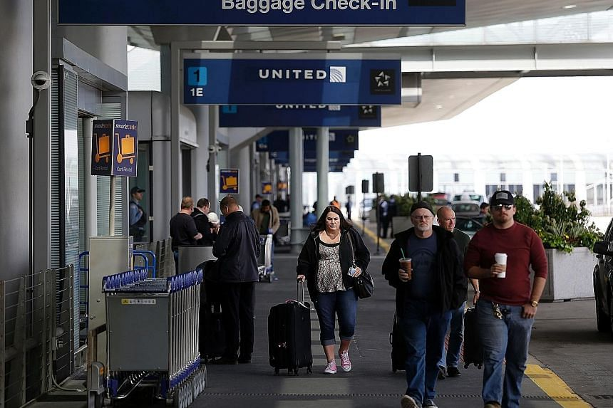 The United Airlines terminal at O'Hare International Airport in Chicago. US airlines have received criticism for their routine mistreatment of customers, after the assault on a United Airlines passenger who was dragged off a plane last month made the