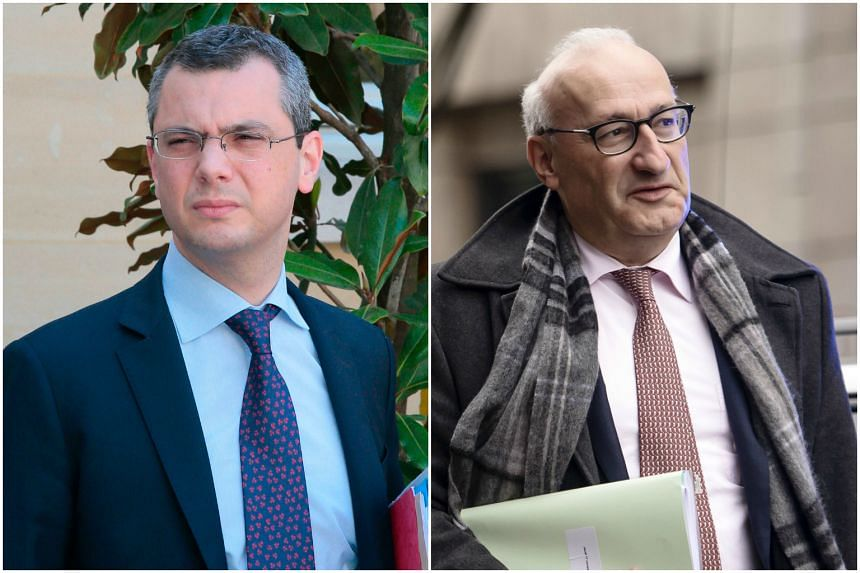 French president Emmanuel Macron has appointed Alexis Kohler (left) as secretary general of the Elysee palace and Philippe Etienne (right) as his diplomatic advisor.