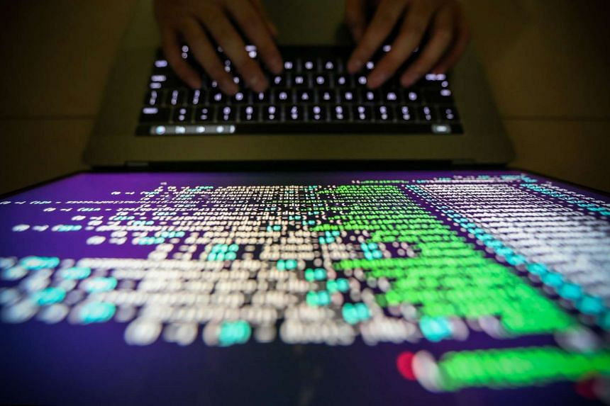 A programer shows a sample of decrypting source code.