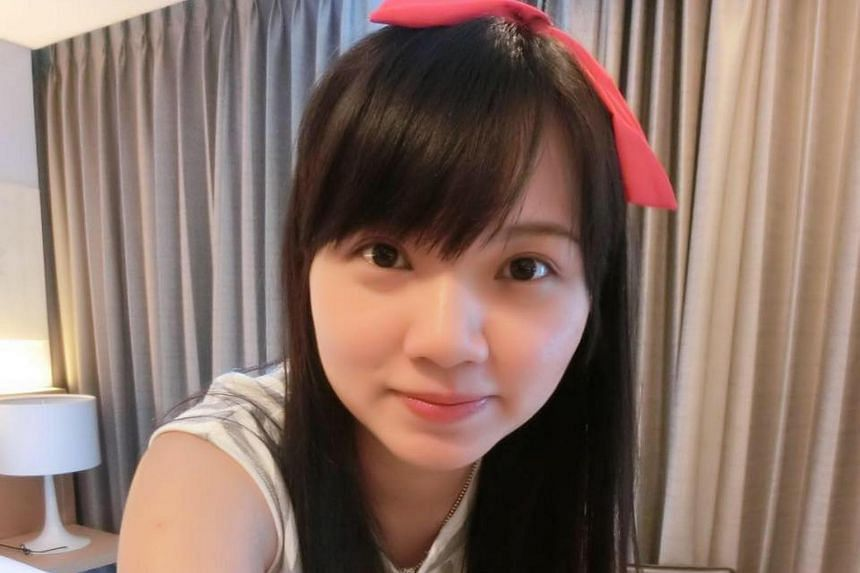 Doctors performed an emergency caesarean section to rescue the baby of Ms Goh Chieh Ting (pictured), who was killed in an accident on May 13, 2017.