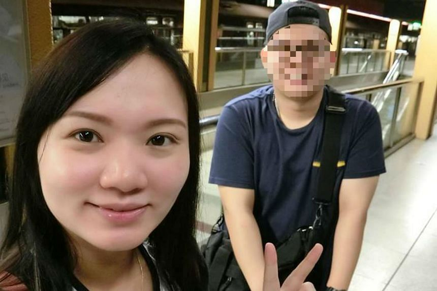 Ms Goh Chieh Ting (left) was hit by a lorry while crossing the road with her mother-in-law on May 13, 2017.