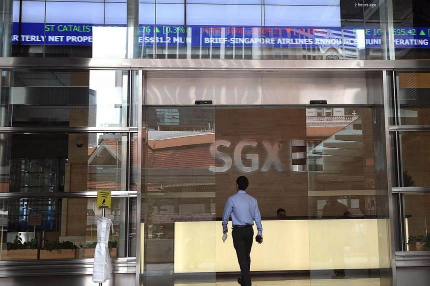 The Singapore Exchange (SGX) Centre at Shenton Way.