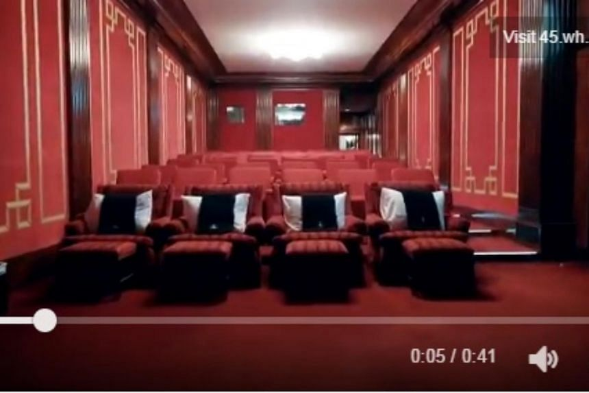 The White House has opened up its movie theatre to the public for the first time. US First Lady Melania Trump was behind the decision to allow visitors to tour the facility.