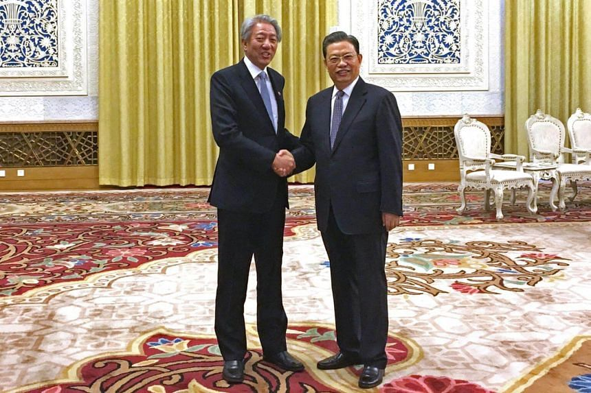 The 6th Singapore-China Forum on Leadership will be co-chaired by Deputy Prime Minister Teo Chee Hean (left) and Mr Zhao Leji, head of the Organisation Department of the Chinese Communist Party (CCP).