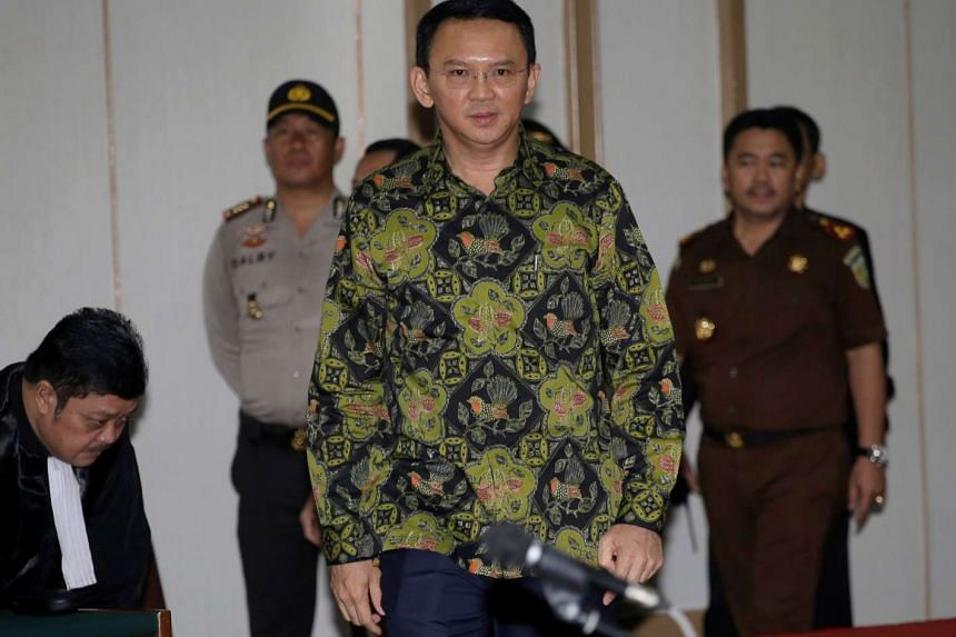 "Jakarta Governor Basuki ""Ahok"" Tjahaja Purnama was sentenced to two years in prison for blasphemy on May 9."