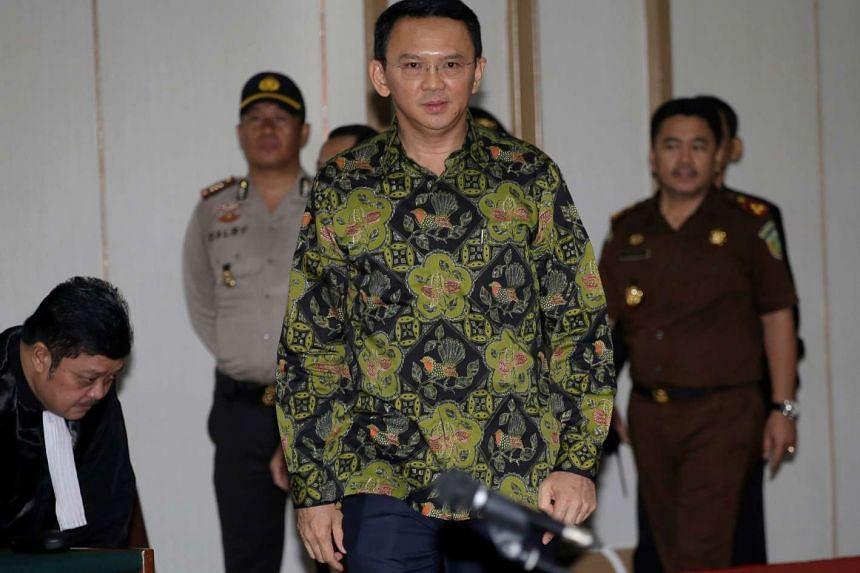 "Jakarta Governor Basuki ""Ahok"" Tjahaja Purnama was sentenced to two years in prison for blasphemy on May 9."
