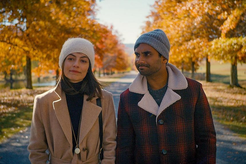 Aziz Ansari plays a New York actor in Master Of None (above, also starring Alessandra Mastronardi).