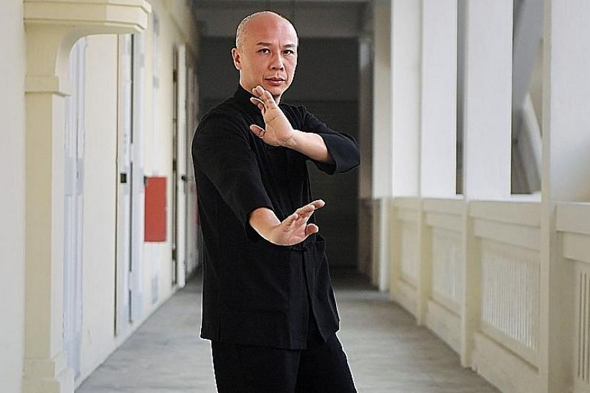 Mr Dennis Lee, who was appointed chairman of the wing chun association set up by Ip Man in Hong Kong, started taking wing chun more seriously when he met grand master Ip Ching.