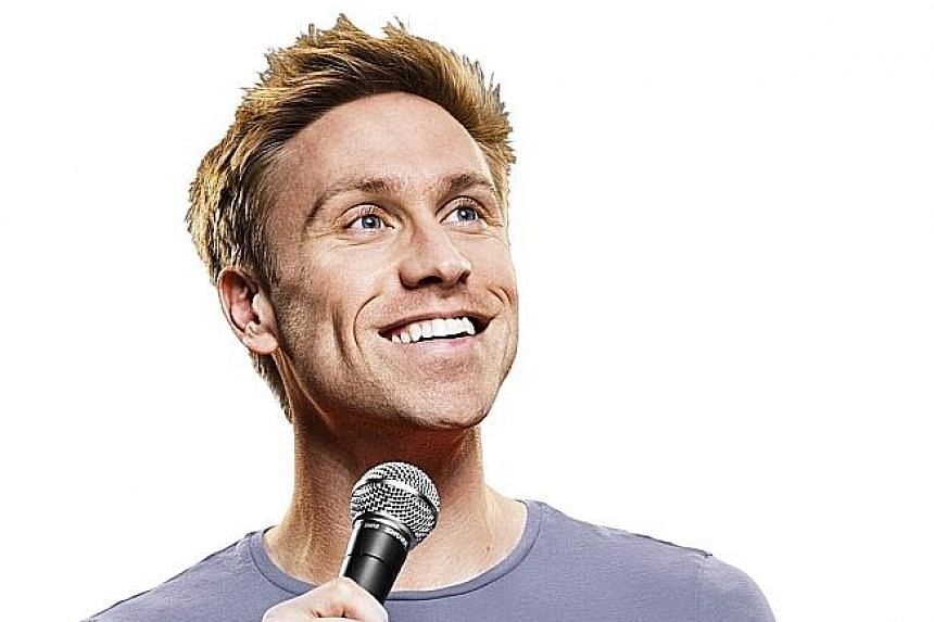 British comedian Russell Howard's television show, which ended its run recently, poked fun at quirky news stories.