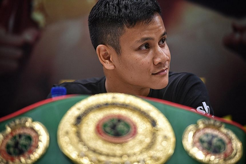 Undefeated Singaporean boxer Muhamad Ridhwan will face Tanzania's Fadhili Majiha for the UBO super-featherweight title at the Roar of Singapore II event at Resorts World Sentosa on May 27.