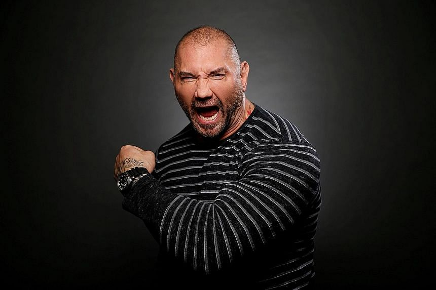 Wrestler Dave Bautista is winning hearts as the dimwitted yet lovable Drax the Destroyer in Guardians Of The Galaxy Vol. 2.