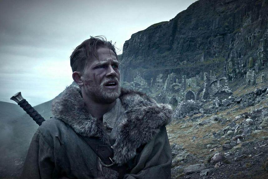 Cinema still of King Arthur: The Legend Of The Sword.