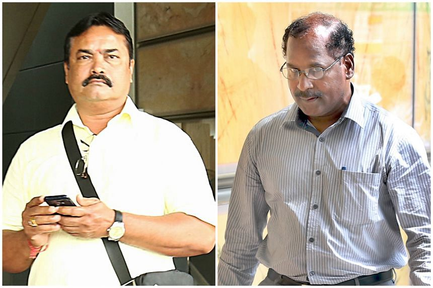 Kulandaivelu Malayaperumal (left) and Gopal Subramaniam (right) have been ordered by the court to return the $3 million given to them by late doctor.