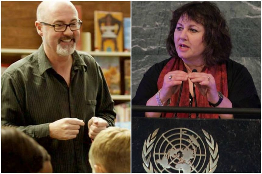 The festival will feature notable speakers like Ireland's children's laureate PJ Lynch (left) and English film-maker Leslee Udwin (right).