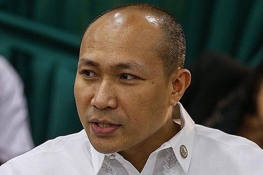 Lawmaker Gary Alejano filed the complaint in March and also accused Mr Duterte of treason.
