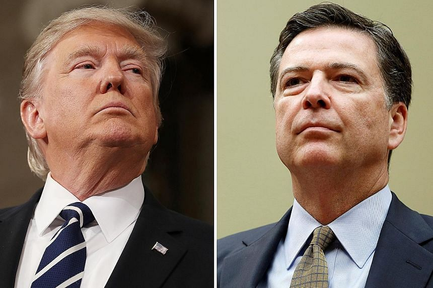 US President Donald Trump has suggested in a tweet that he may have taped private White House conversations with then FBI director James Comey.