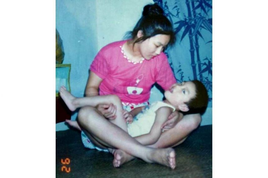 Mr Ding has cerebral palsy, after a birth complication during which he nearly suffocated.
