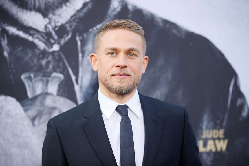 Actor Charlie Hunnam at the premiere of King Arthur: Legend of the Sword at the TCL Chinese Theatre IMAX in Hollywood, California on May 8.