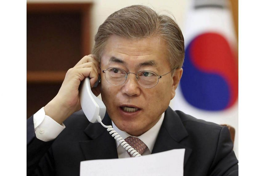 South Korean President Moon Jae In has warned tensions have escalated with North Korea.
