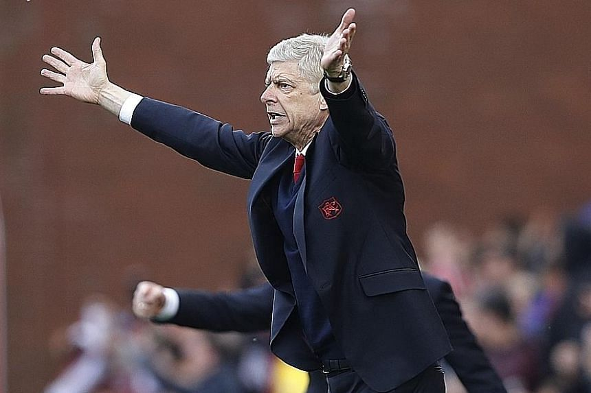 Arsenal manager Arsene Wenger blames his fifth-placed team's predicament on a lack of consistency during the Premier League season.