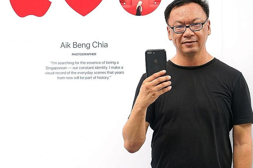 Mr Aik Beng Chia will be sharing his tricks of the trade at the store.