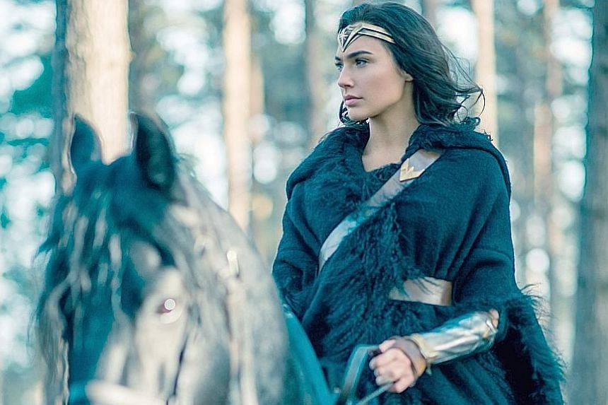 Gal Gadot in Wonder Woman, which opens on May 31 in Singapore.