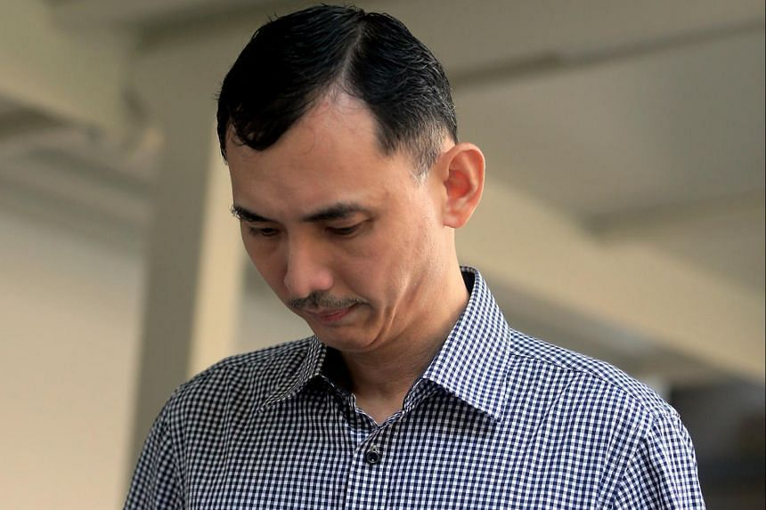 Poh Siok Peng was jailed for five weeks  for twice taking underskirt videos of his colleague at the SCDF headquarters.