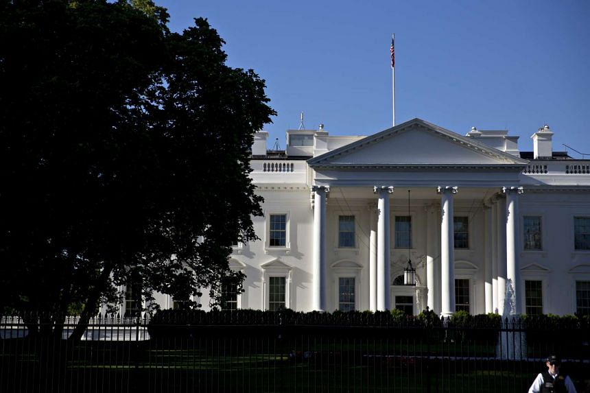 The White House was placed on lockdown late on Tuesday (May 16).